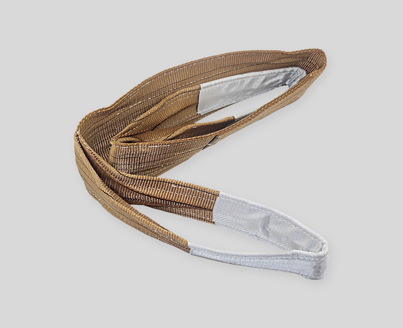 webbing sling - Coffee color