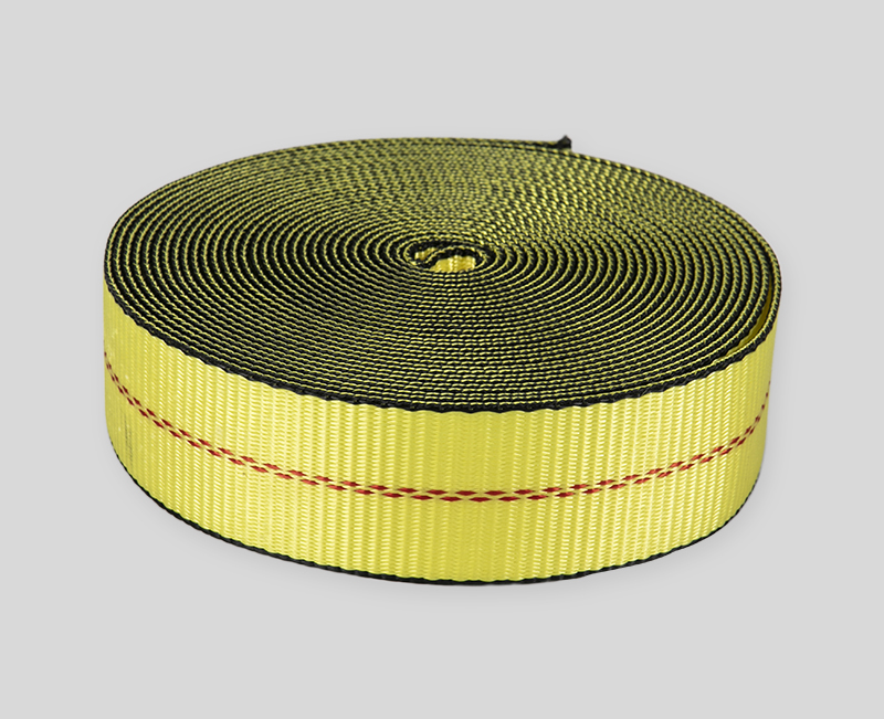 webbing design - yellow body green border