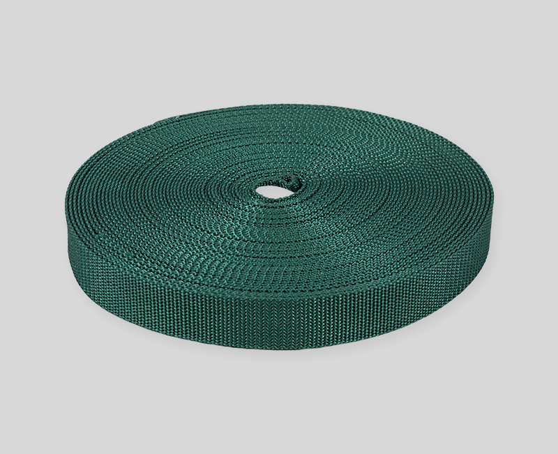 webbing design - dark green