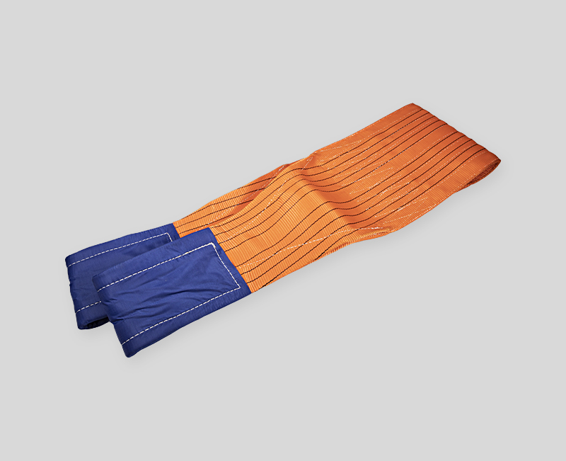 Hot Sale Webbing Sling -Orange Body Blue Head