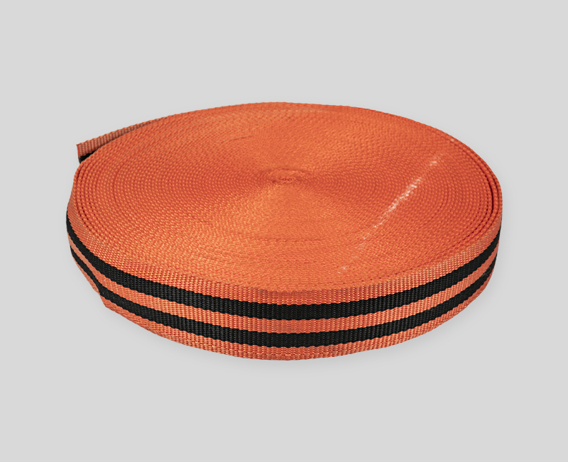 webbing design - Dark orange