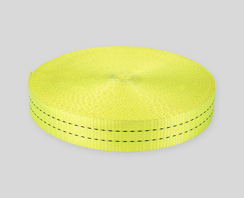 webbing design - Grass yellow