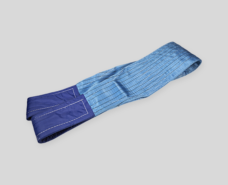 Endless Flat Webbing Sling for Lifting -Blue