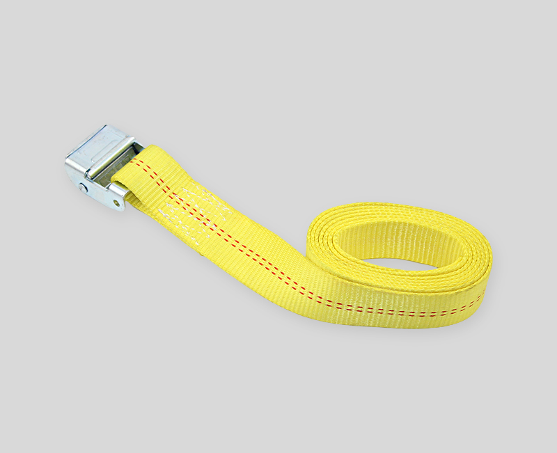 cam buckle tie down - yellow
