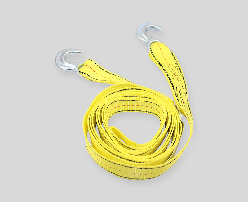 tow straps - 2 width - yellow