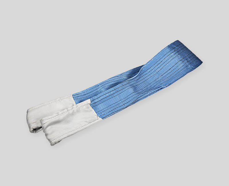 High Quality Webbing Sling - Blue Body White Head