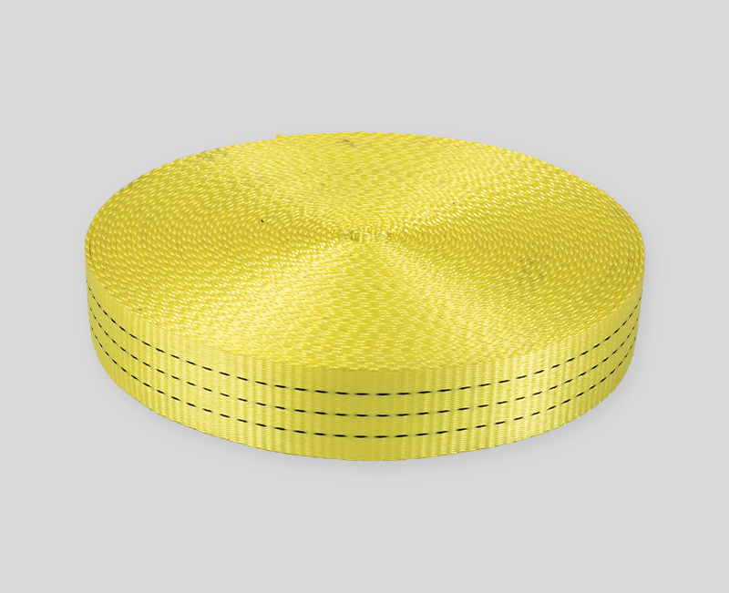 webbing design - Bright yellow